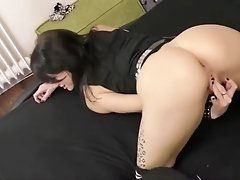 SKINNY GERMAN EMO TEEN ALICE IN HOMEMADE ASS FUCK AND FACIAL