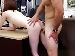 Sexy Petite Teen Gets What She Wants Inside The Pawnshop